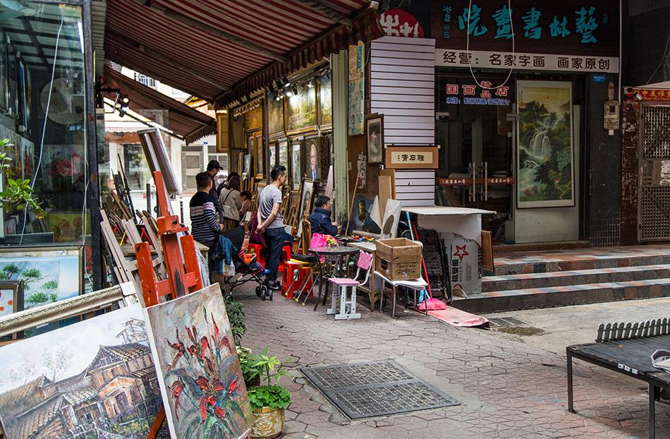 Fabian Fröhlich, Shenzhen, Dafen Oil Painting Village