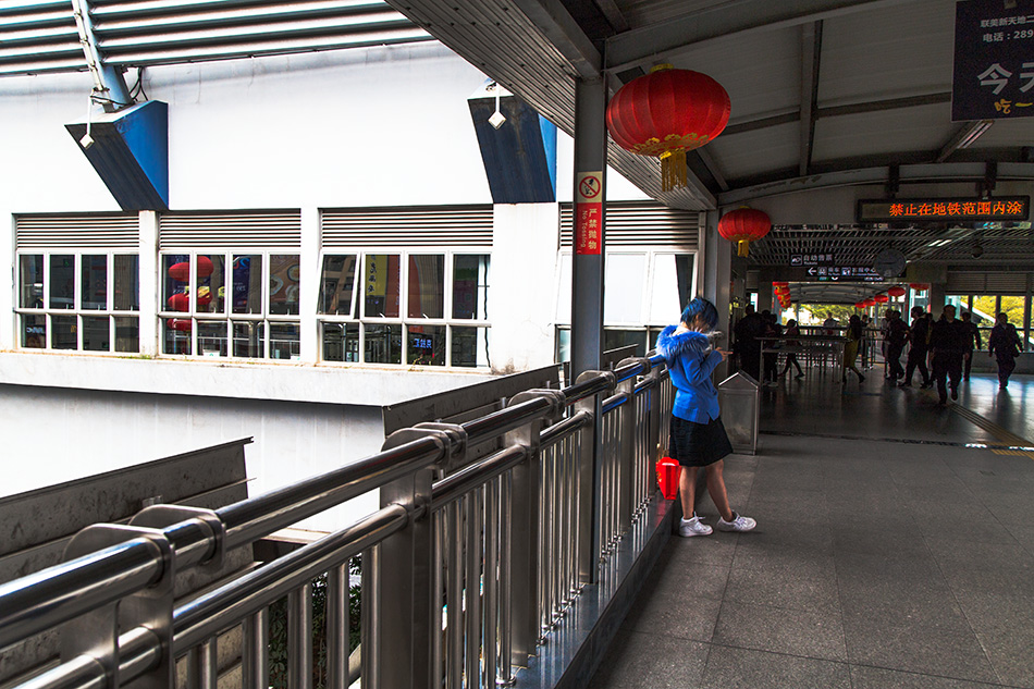 Fabian Fröhlich, Shenzhen, Mumianwan Metro Station
