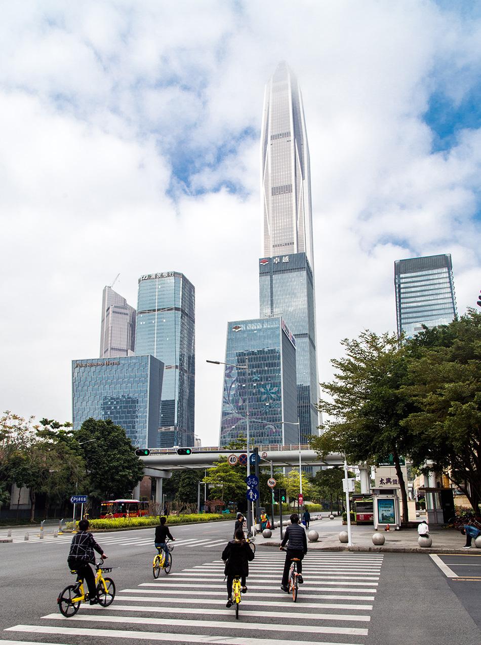 Fabian Fröhlich, Shenzhen, Ping An Finance Center