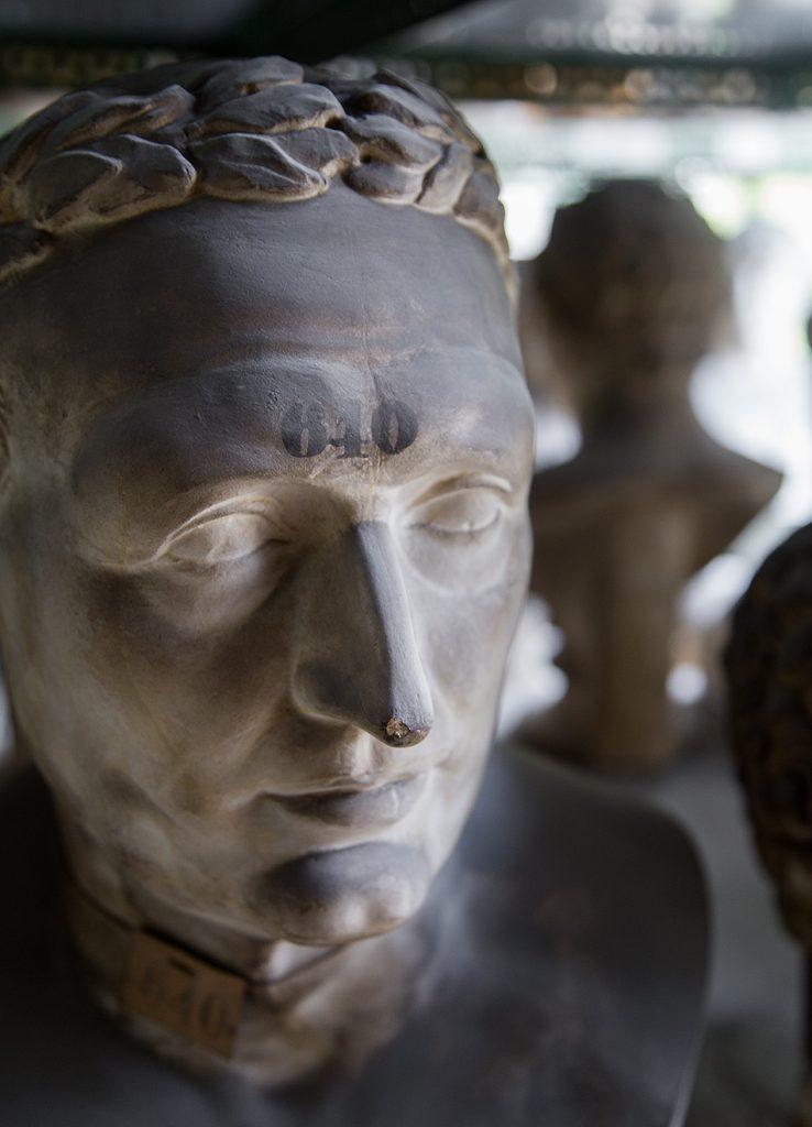 Fabian Fröhlich, Berlin, Gipsformerei, Römische Porträtbüste