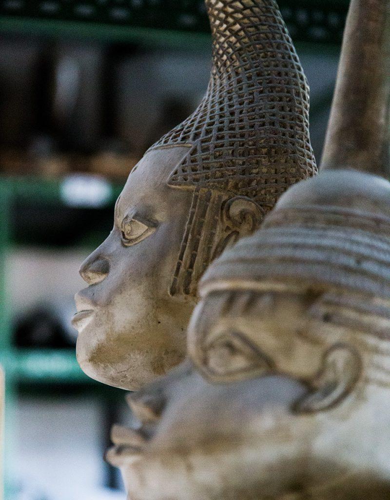 Fabian Fröhlich, Berlin, Gipsformerei, Bildnis der Idia aus dem Königreich Benin