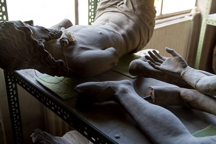 Fabian Fröhlich, Berlin, Gipsformerei, Christus