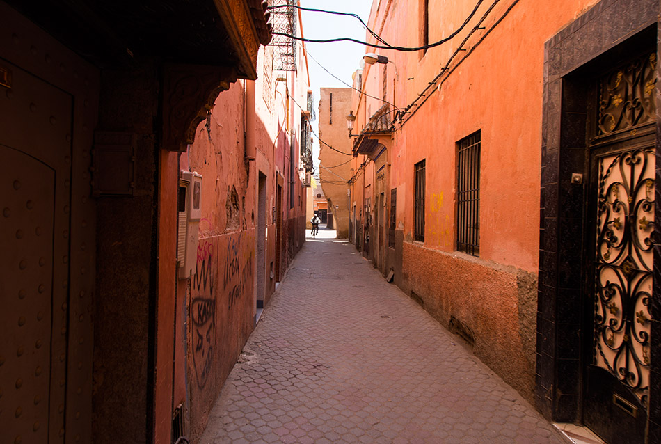 Fabian Fröhlich, Marrakesch, Kasbah district