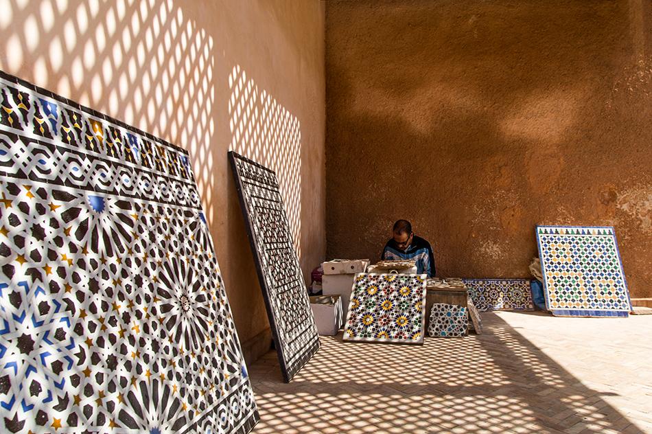 Fabian Fröhlich, Marrakesch, Medina