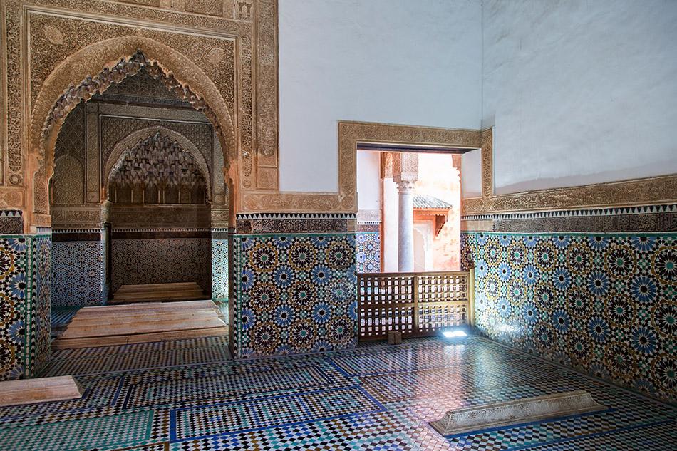 Fabian Fröhlich, Marrakesch, Saadian tombs