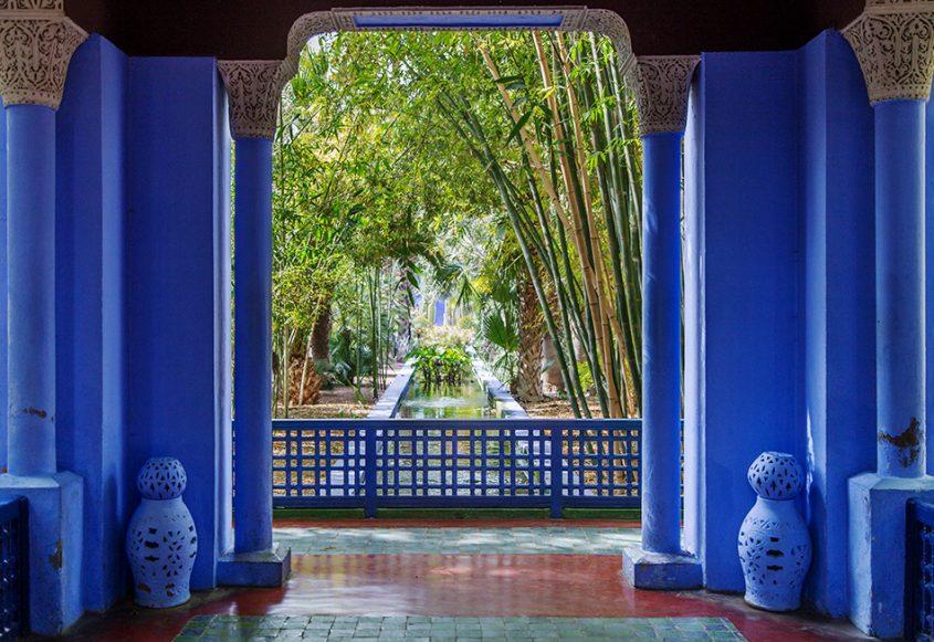 Fabian Fröhlich, Jardin Majorelle Marrakech, Pavillon