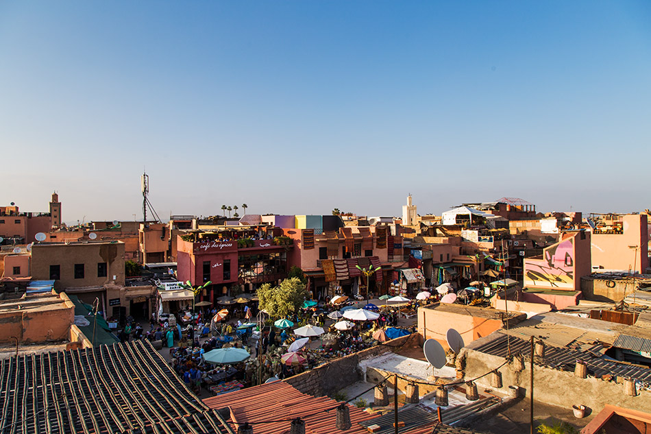 Fabian Fröhlich, Marrakesch, Medina, Spice Square