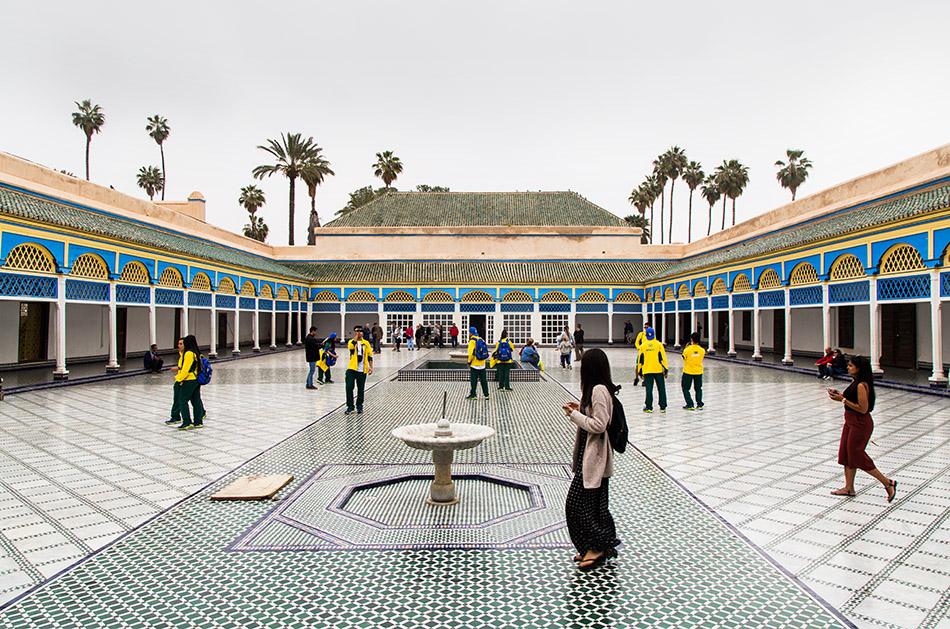 Fabian Fröhlich, Marrakesch, Medina, El Bahia Palace