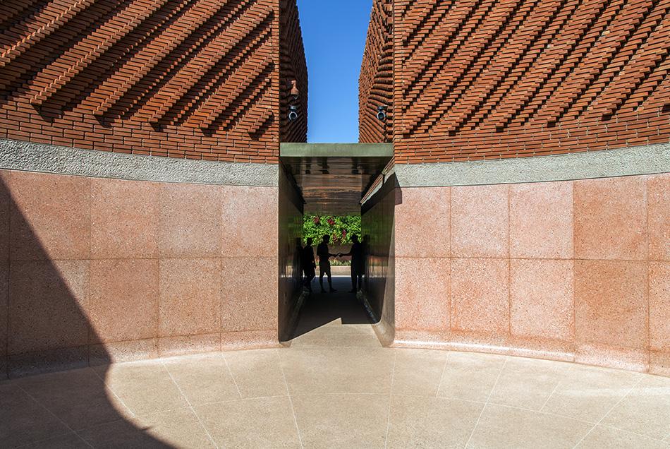 Fabian Fröhlich, Musée Yves Saint Laurent Marrakech, Inner Courtyard