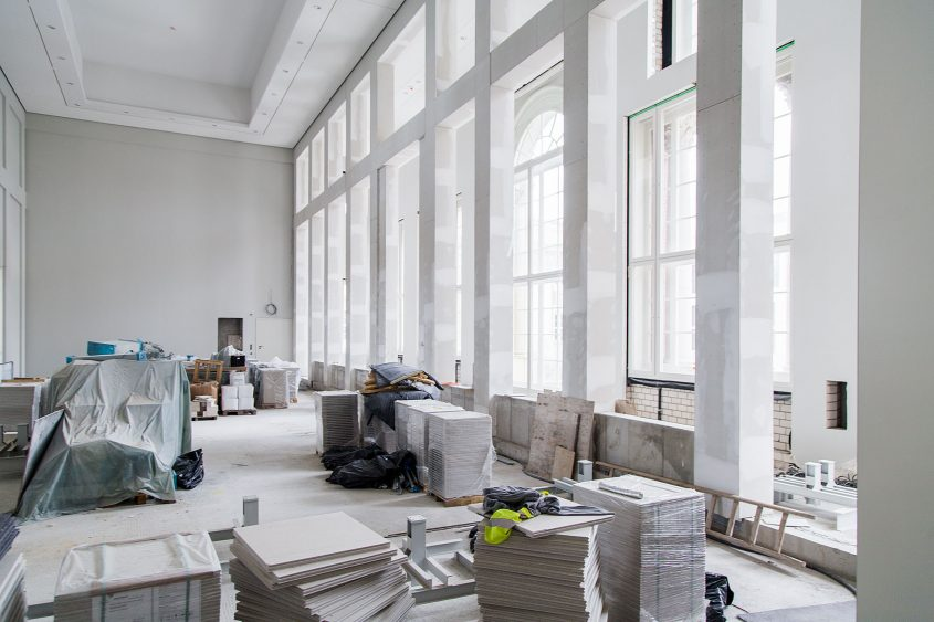 Fabian Fröhlich, Baustelle Humboldt Forum im Berliner Schloss, Ethnologisches Museum / Amerika