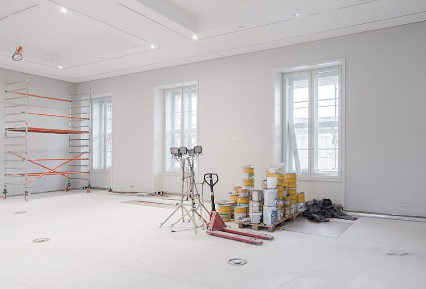 Fabian Fröhlich, Baustelle Humboldt Forum im Berliner Schloss, Ethnologisches Museum / Afrika