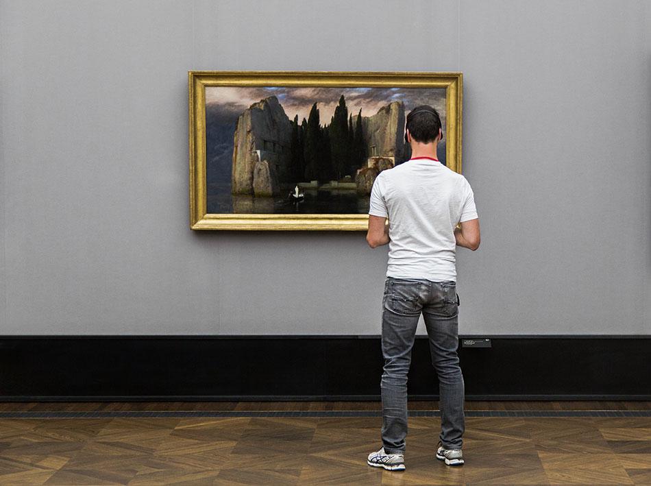 Fabian Fröhlich, Alte Nationalgalerie, Arnold Böcklin, Die Toteninsel