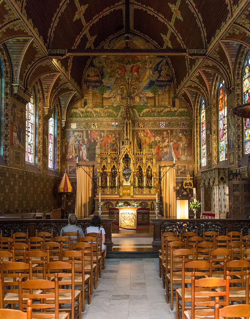 Fabian Fröhlich, Brügge, Bruges, Basiliek van het Heilig Bloed
