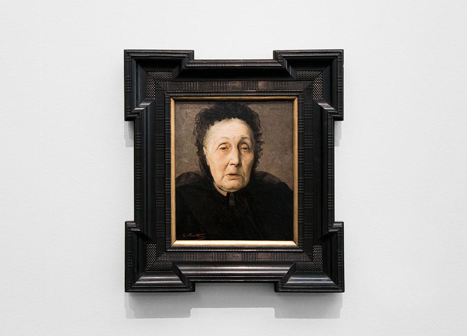 Fabian Fröhlich, Brügge, Bruges, Groeningemuseum; Edmond van Hove, Portrait Anna Maria Moulaert