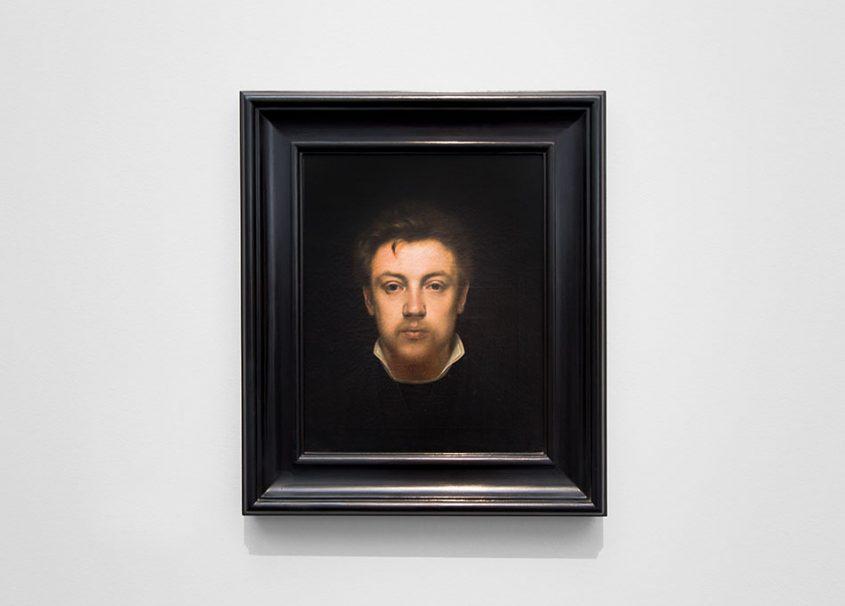 Fabian Fröhlich, Brügge, Bruges, Groeningemuseum; Edmond van Hove, Selbstportrait