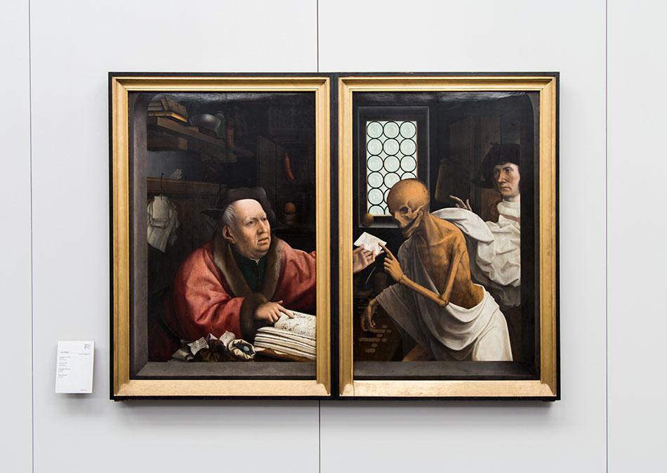 Fabian Fröhlich, Brügge, Bruges, Groeningemuseum; Jan Provoost, Tod und der Geizhals