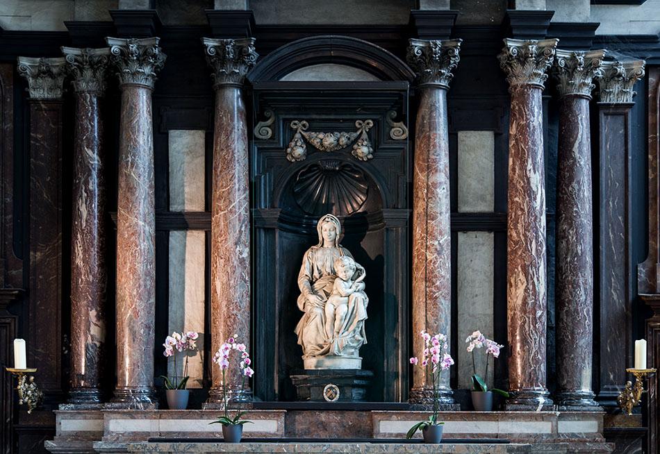 Fabian Fröhlich, Brügge, Bruges, Onze-Lieve-Vrouwekerk, Michelangelo