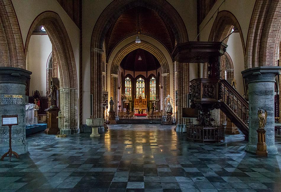Fabian Fröhlich, Brügge, Bruges, Sint-Giliskerk