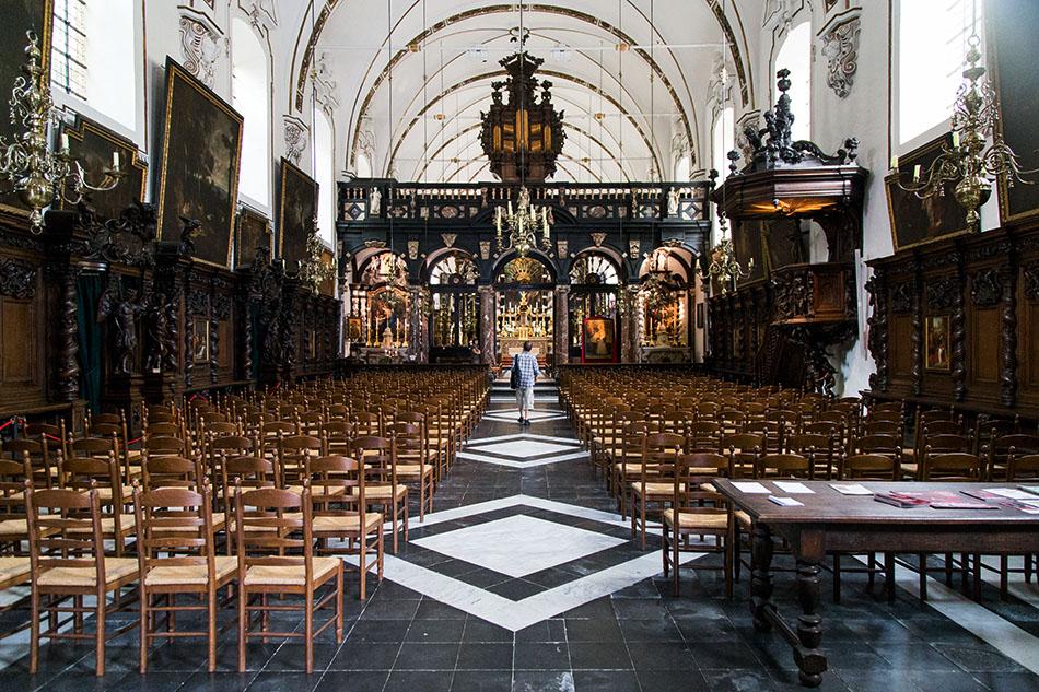 Fabian Fröhlich, Brügge, Bruges, Sint-Walburgakerk