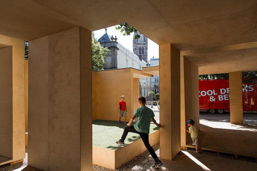Fabian Fröhlich, Brugge Triennale 2018, Wesley Meuris, Urban Model