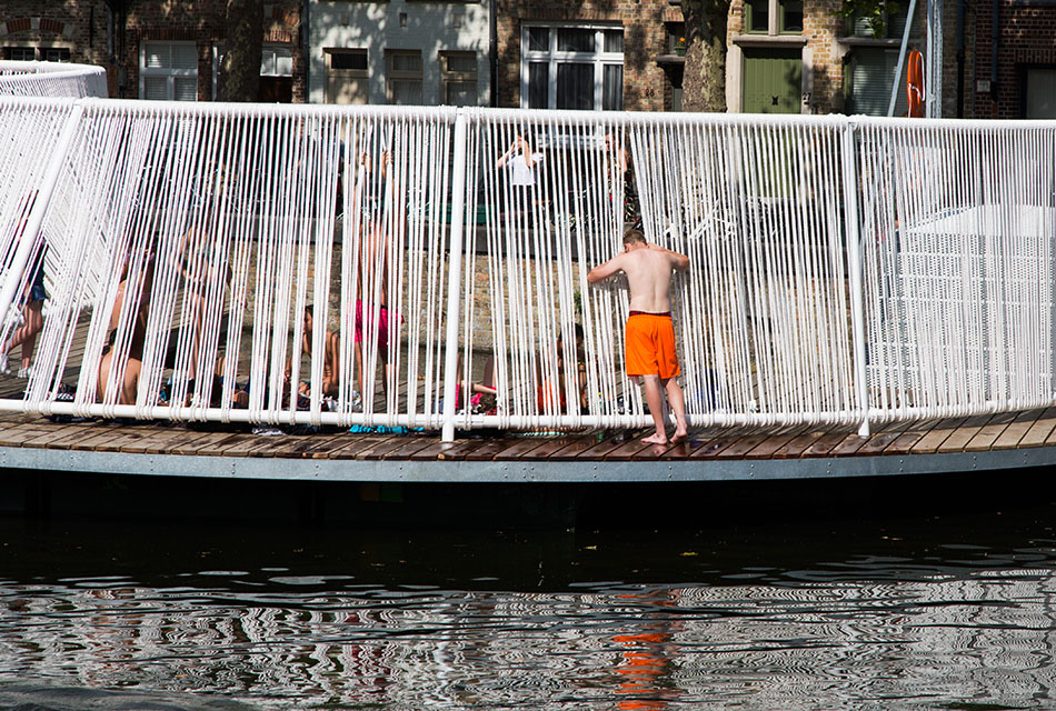 Fabian Fröhlich, Brugge Triennale 2018, OBBA, The Floating Island