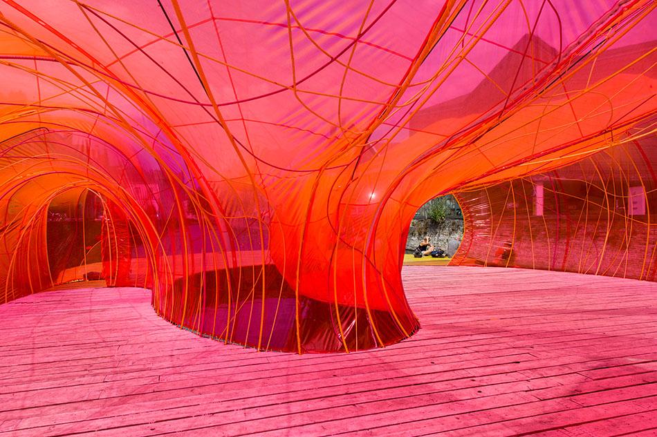 Fabian Fröhlich, Brugge Triennale 2018, selgascano, selgascano Pavilion