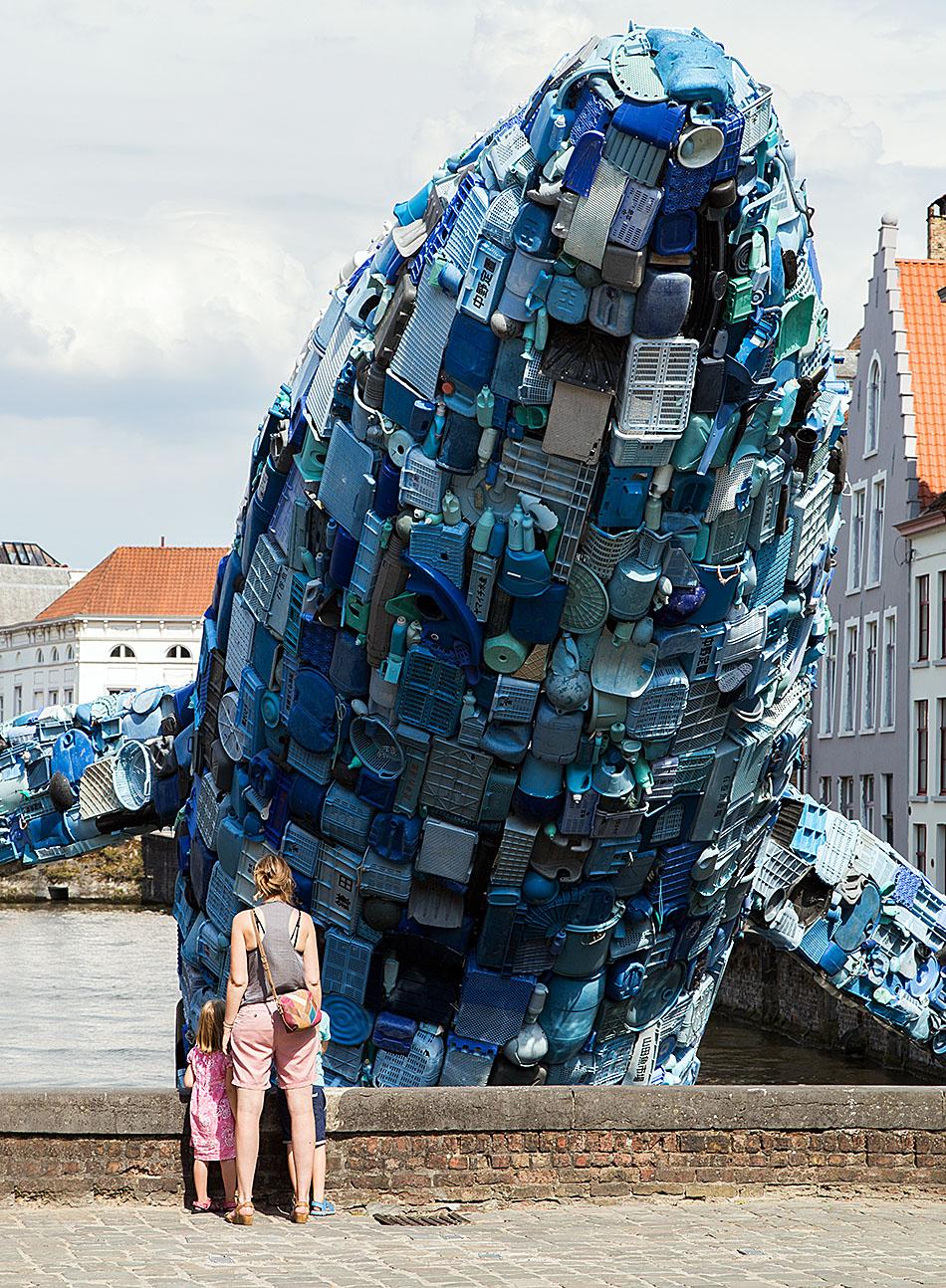 Fabian Fröhlich, Brugge Triennale 2018, StudioKCA, Skyscraper (the Bruges Whale)