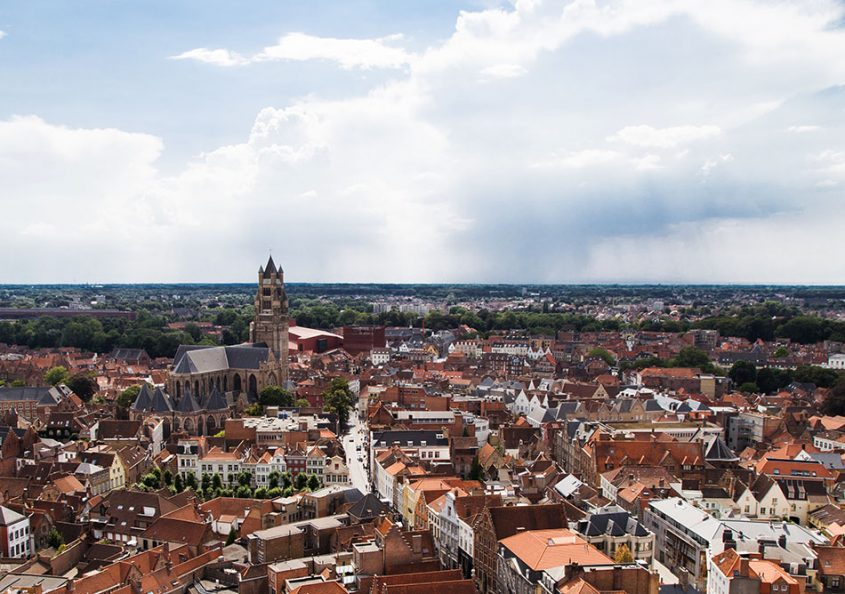 Fabian Fröhlich, Brügge, Bruges, View from Belfort