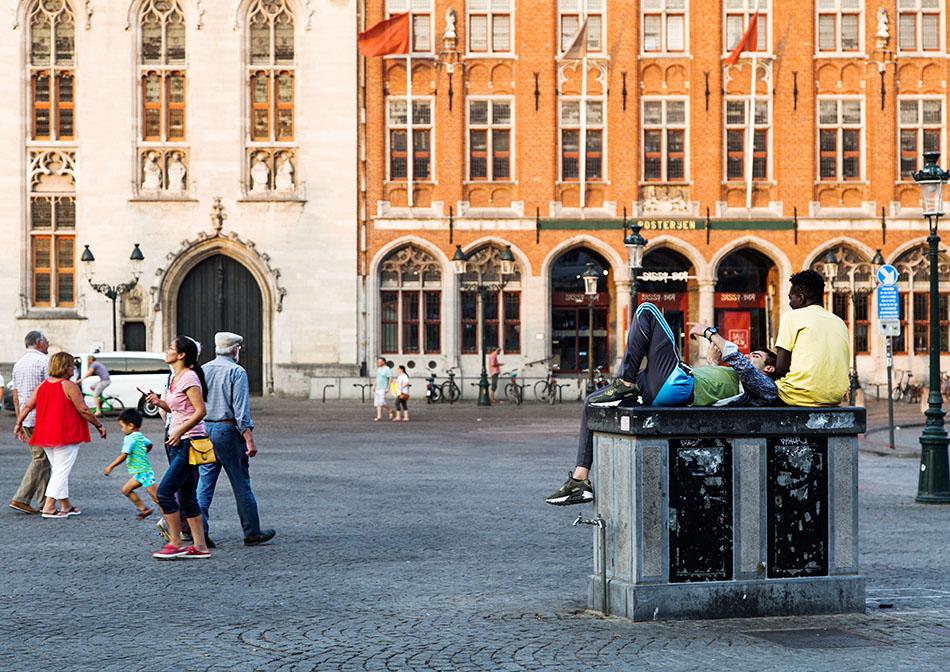 Fabian Fröhlich, Brügge, Bruges, Markt