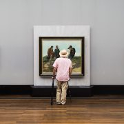 Fabian Fröhlich, Alte Nationalgalerie, Wanderlust, Gustave Courbet, Bonjour Monsieur Courbet
