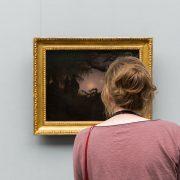 Fabian Fröhlich, Alte Nationalgalerie, Wanderlust, Caspar David Friedrich, Mann und Frau in Betrachtung des Mondes