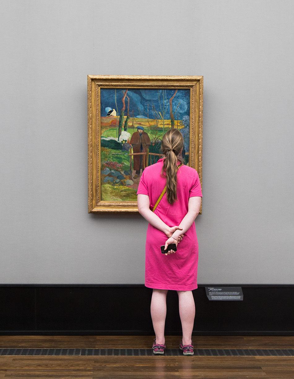 Fabian Fröhlich, Alte Nationalgalerie, Wanderlust, Bonjour Monsieur Gauguin