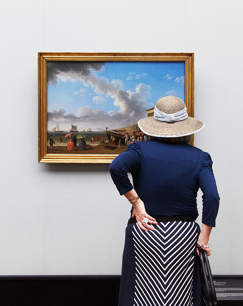 Fabian Fröhlich, Alte Nationalgalerie, Wanderlust, Jakob Philipp Hackert, Palazzina Borghese in Pratica di Mare