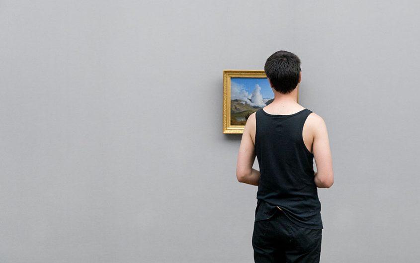 Fabian Fröhlich, Alte Nationalgalerie, Wanderlust, Heinrich Reinhold, Künstler erkunden die österreichischen Alpen