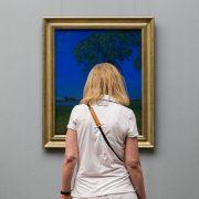 Fabian Fröhlich, Alte Nationalgalerie, Wanderlust, Hans Thoma, Einsamkeit