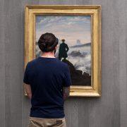 Fabian Fröhlich, Alte Nationalgalerie, Wanderlust, Caspar David Friedrich, Der Wanderer über dem Nebelmeer
