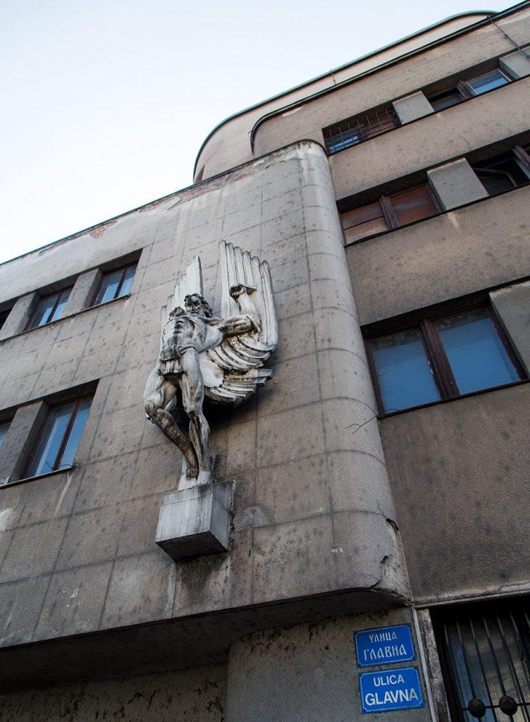 Fabian Fröhlich, Belgrad, Zemun, The Air Force Command Building, Zlata Markov, Ikarus