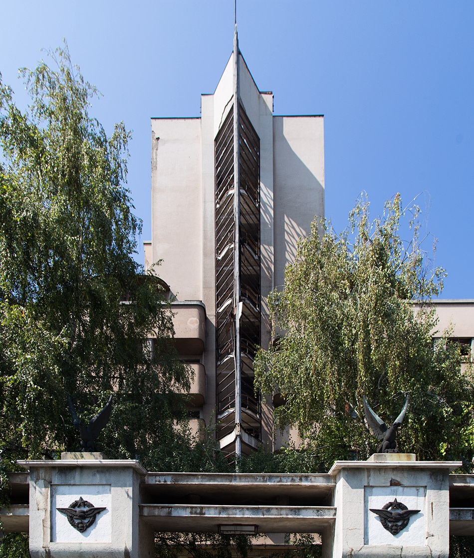 Fabian Fröhlich, Belgrad, Zemun, The Air Force Command Building