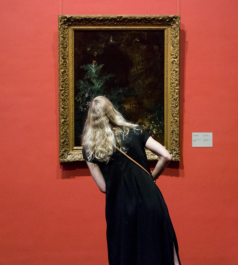 Fabian Fröhlich, Brüssel, Royal Museums of Fine Arts of Belgium, Peeter Snyers, Blumen mit Früchten und Igel