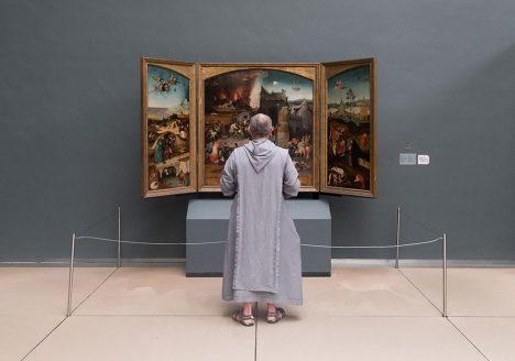 Fabian Fröhlich, Brüssel, Royal Museums of Fine Arts of Belgium, Hieronymus Bosch, Triptychon mit der Versuchung des Heiligen Antonius