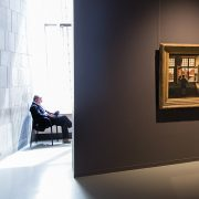 Fabian Fröhlich, Brüssel, Royal Museums of Fine Arts of Belgium, Henri de Braekeleer, Mann am fenster