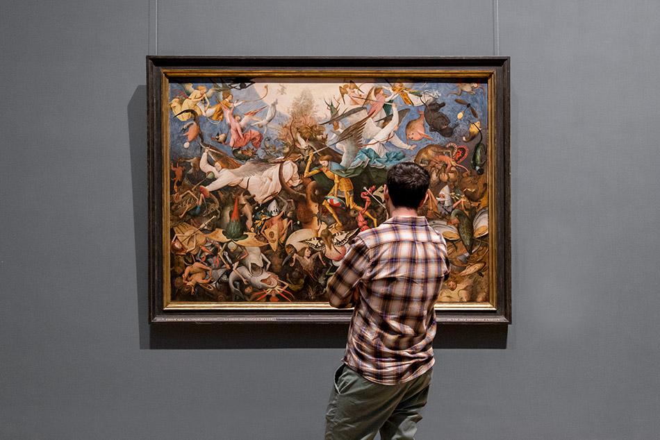 Fabian Fröhlich, Brüssel, Royal Museums of Fine Arts of Belgium, Pieter Bruegel d. Ä., Engelssturz