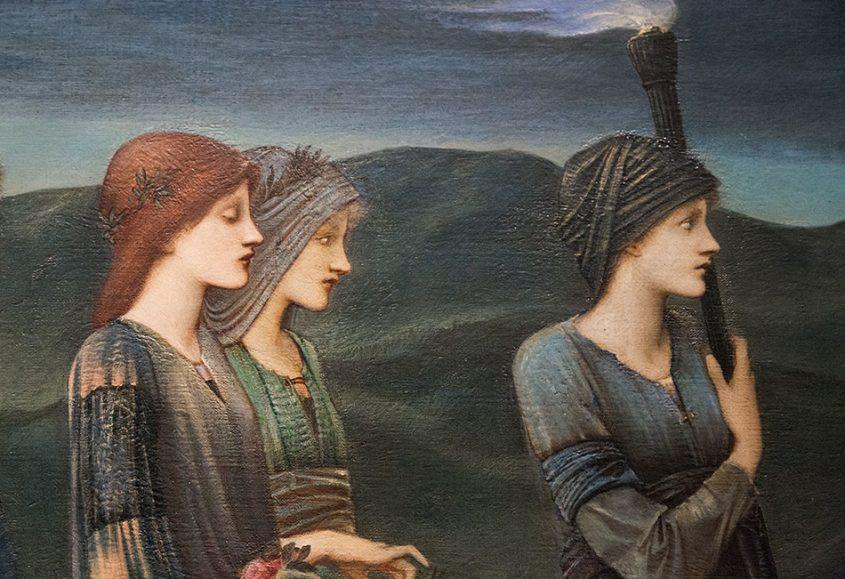 Fabian Fröhlich, Brüssel, Royal Museums of Fine Arts of Belgium, Edward Burne-Jones,The Wedding of Psyche