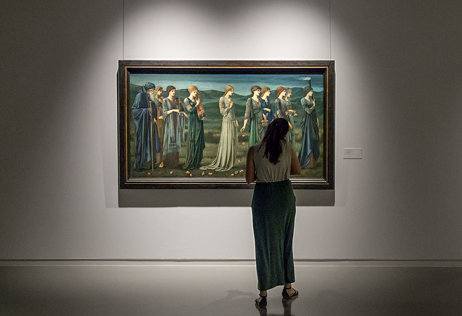 Fabian Fröhlich, Brüssel, Royal Museums of Fine Arts of Belgium, Edward Burne-Jones,The Wedding of Psyche
