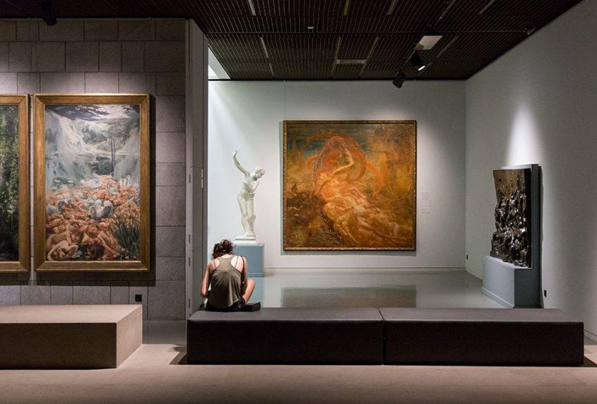 Fabian Fröhlich, Brüssel, Royal Museums of Fine Arts of Belgium, Jean Delville, The Treasures of Satan.
