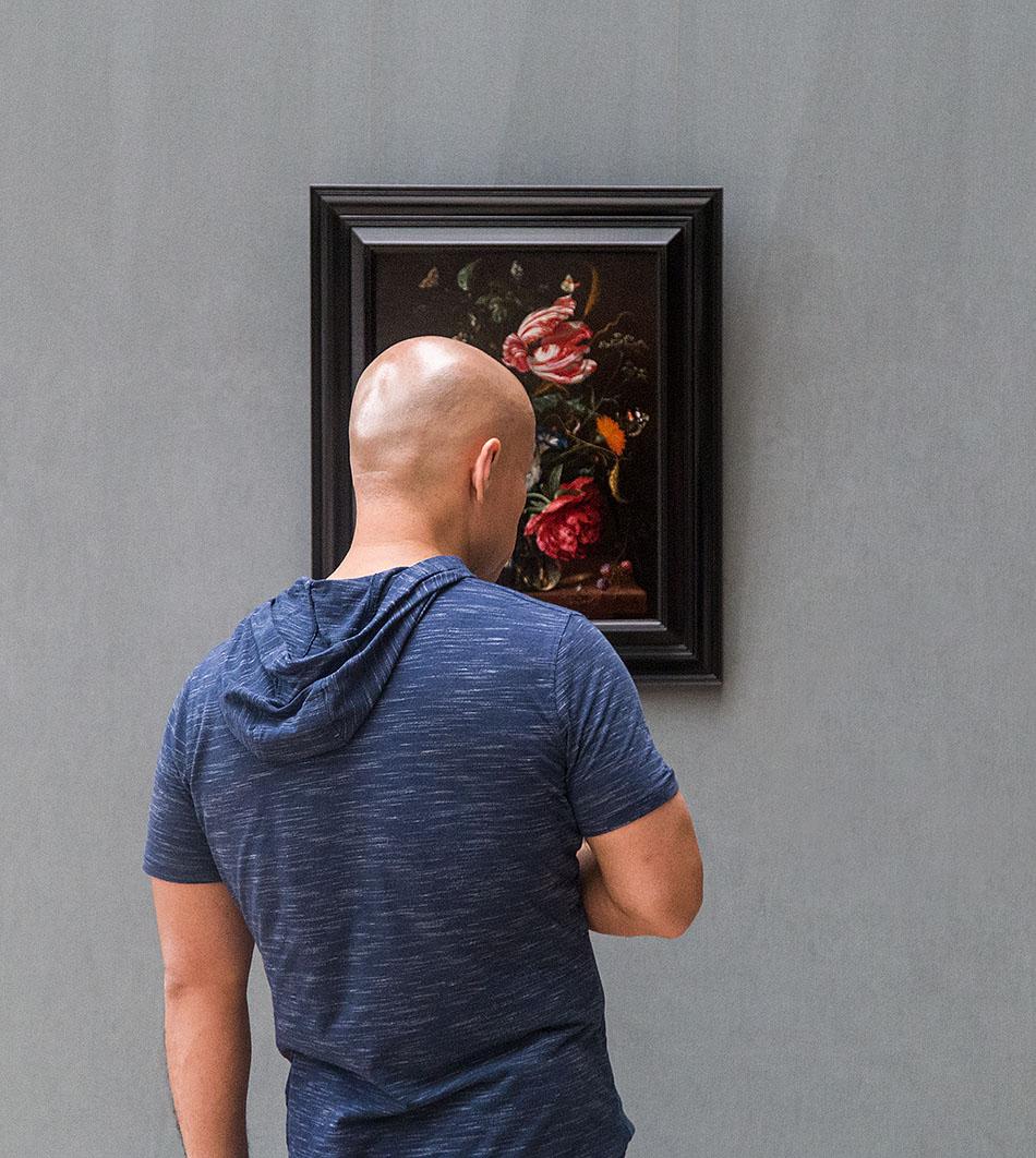 Fabian Fröhlich, Brüssel, Royal Museums of Fine Arts of Belgium, Jan Davidz. de Heem, Blumenstück