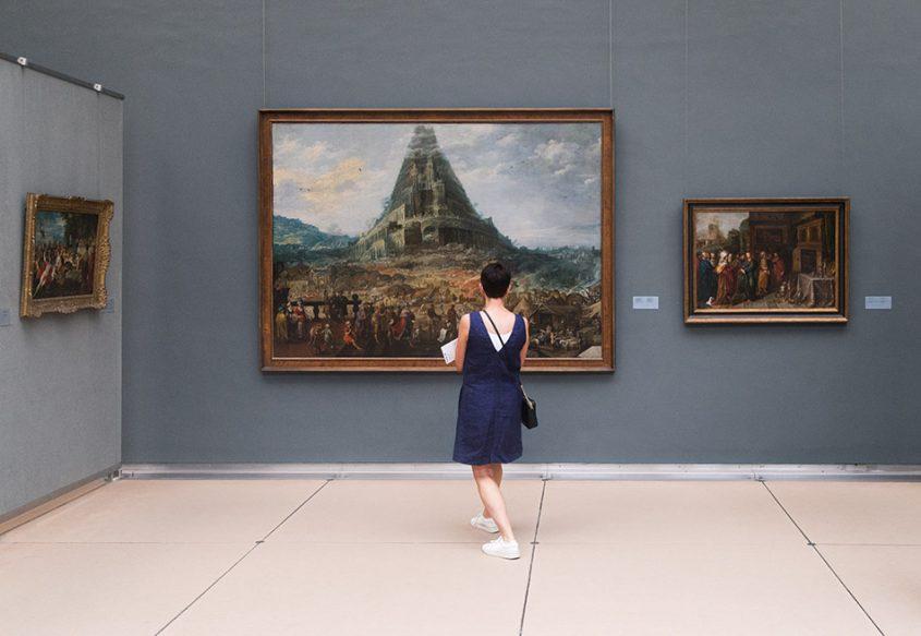 Fabian Fröhlich, Brüssel, Royal Museums of Fine Arts of Belgium, oos de Momper with Frans Francken II, Der Turm zu Babel