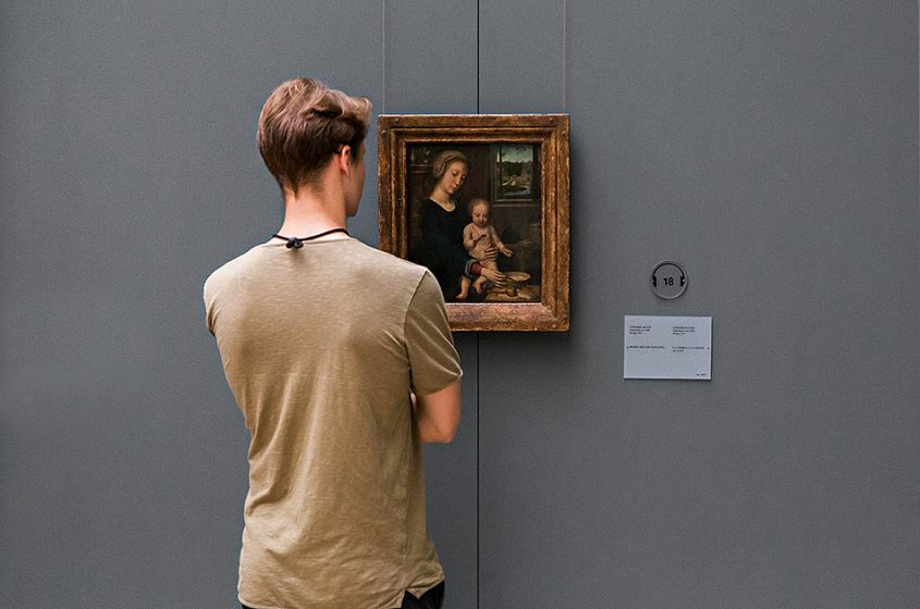 Fabian Fröhlich, Brüssel, Royal Museums of Fine Arts of Belgium, Gerard David, Madonna with Child Holding a Spoon