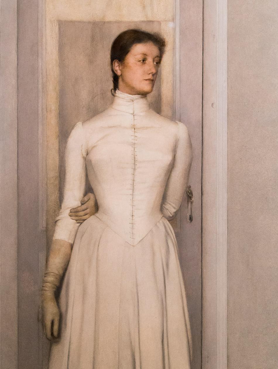 Fabian Fröhlich, Brüssel, Royal Museums of Fine Arts of Belgium, Fernand Khnopff, Portrait de Marguerite