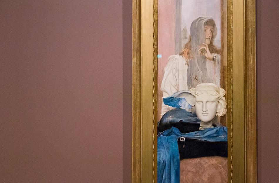 Fabian Fröhlich, Brüssel, Royal Museums of Fine Arts of Belgium, Fernand Khnopff, Ein Blauer Flügel
